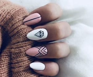 diamonds, long, and nails image