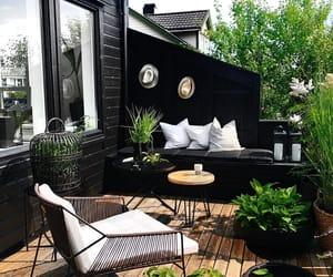 home decor, deck, and dream home image