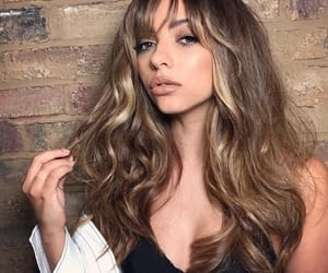 beautiful, wavy hair, and little mix image
