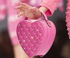 pink, Moschino, and bag image