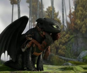 cartoon, dragon, and how to train your dragon image