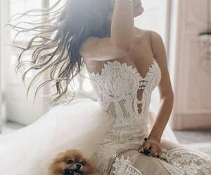 bride, cream, and mermaid image