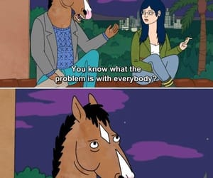 people, truth, and bojack horseman image