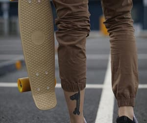 boy, skate, and tatoo image