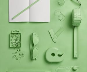 green, pinterest, and stationary image