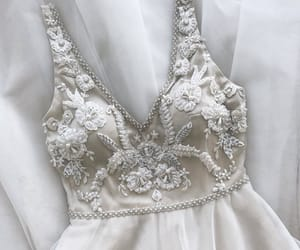 bride, delicate, and dress image