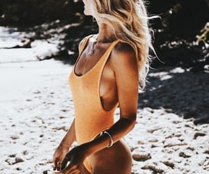 accessories, body, and tan image