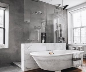 aesthetic, bathroom, and home image