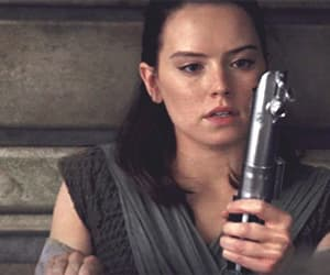 gif, daisy ridley, and star wars image