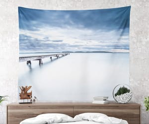 home decor, tapestry, and jetty image