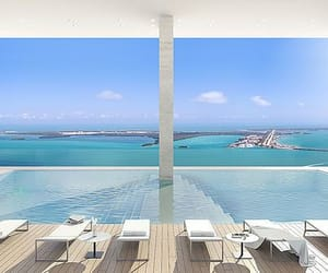 city, Miami, and fisher island image