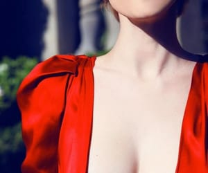 red, smoke, and sexy image