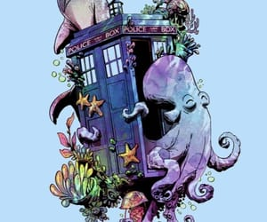 dr. who, me, and narwhal image