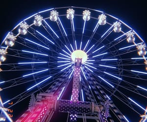 amazing, luna park, and night out image