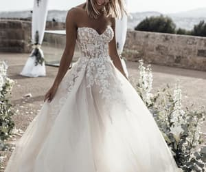 wedding, bride, and love image
