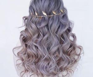 beauty, woman, and haircolor image