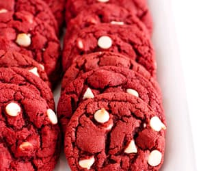 Cookies, red, and food&drink image