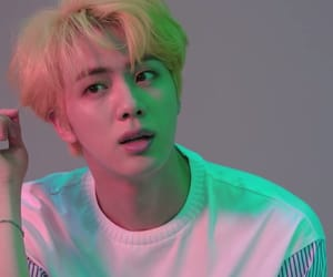 jin, bts, and bangtan image