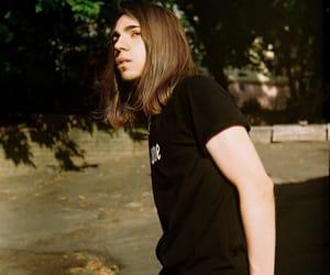 alt model, grunge boy, and men with long hair image