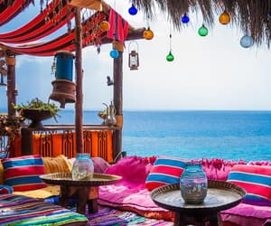 cafe, colors, and egypt image