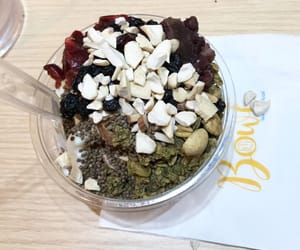 almond, cranberry, and healthy image