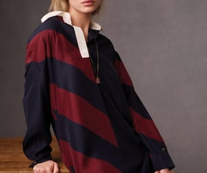 fashion, model, and tommy hilfiger image
