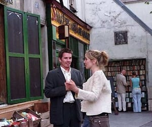 before sunset and ethan hawke image