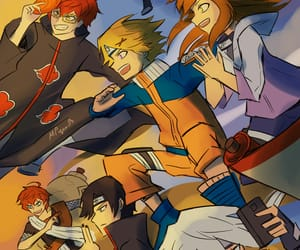 MM, naruto, and crossover image