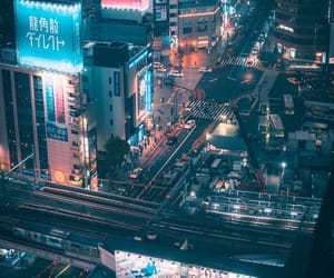 japan, cityscape, and neon image