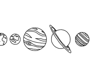 overlay, planets, and universe image