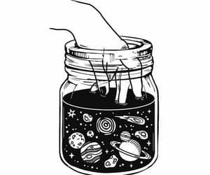 gif, planet, and art image