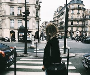 city, travel, and girl image