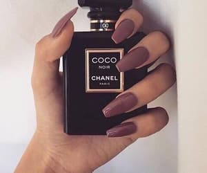 coco chanel, nails, and bordò image