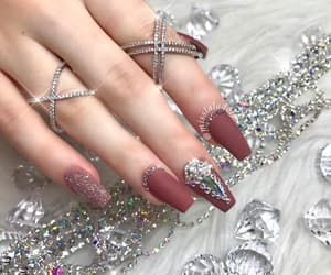 nails, accessories, and beautiful image