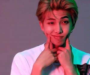 gif, rap monster, and jimin image