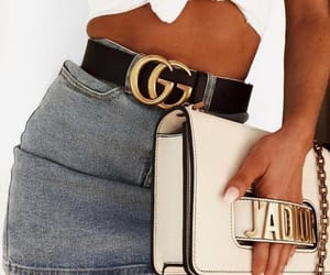 cool, girls, and gucci belt image