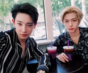kpop, shin wonho, and hyungwon image