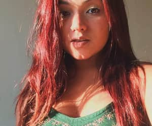 beauty, longhair, and redhair image