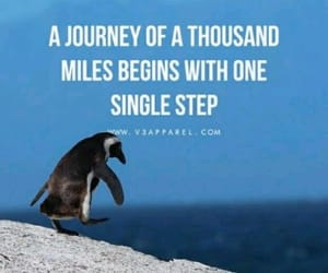 journey, quote, and success image
