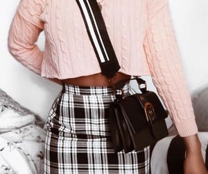 bag, outfit, and trendy image