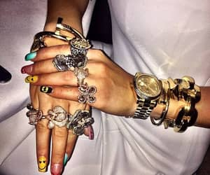 beuty, nails, and fashion nails image