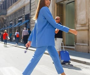 blue, fashion, and look image