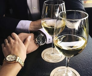 couple, love, and drink image