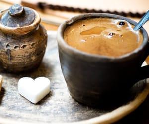 coffee, sugar, and heart image