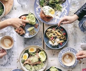 breakfast, brunch, and delicious image