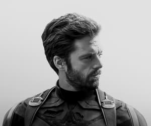 bucky, handsome, and Marvel image