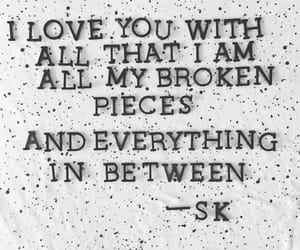 broken, everything, and fall in love image