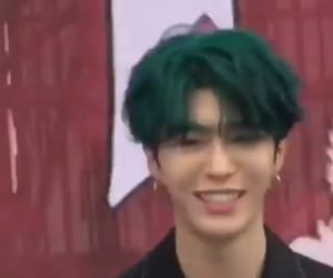 asian, green hair, and chengcheng image