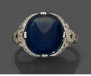 1920s, jewelry, and blue image