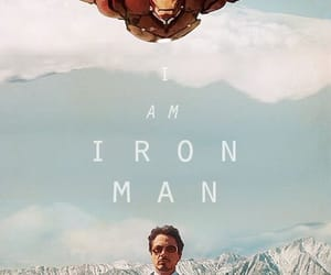iron man, tony stark, and Marvel image